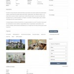 Screenshot: English Property Details Page