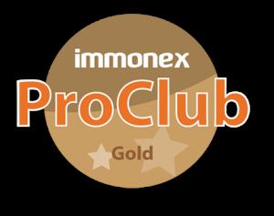 Logo: immonex ProClub Gold