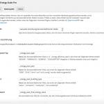 Screenshot: Zuordnung der benutzerdefinierten Energieausweis-Felder