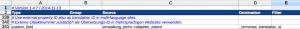 Screenshot: Zuweisung der Objekt-Übersetzungs-ID