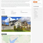 Screenshot: Real Homes Theme / German Property Details Page