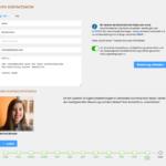 Screenshot: Kontaktdaten/Absenden-Formularseite