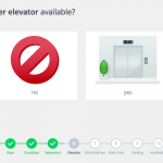 Screenshot: Elevator available? (Heeba theme)