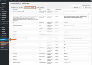Screenshot: Bearbeiten von Übersetzungen mit Polylang