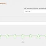 Screenshot: Flex-Formularseite im Frontend